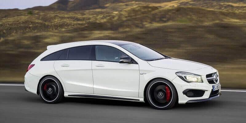 Mercedes X117 CLA Shooting Brake (2015- )