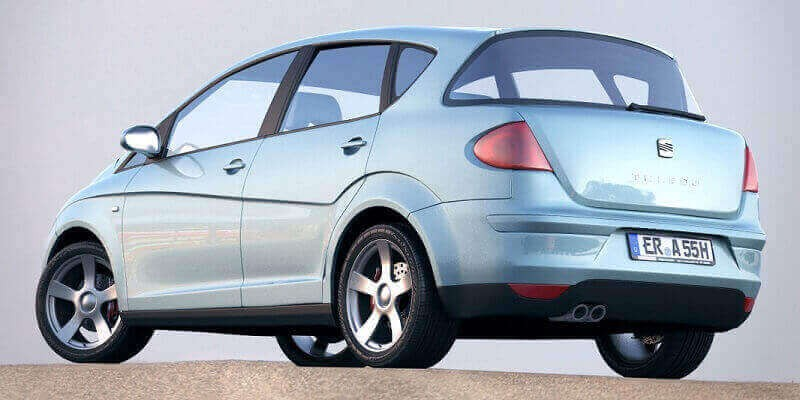 Seat Toledo 5P (2004-2009)